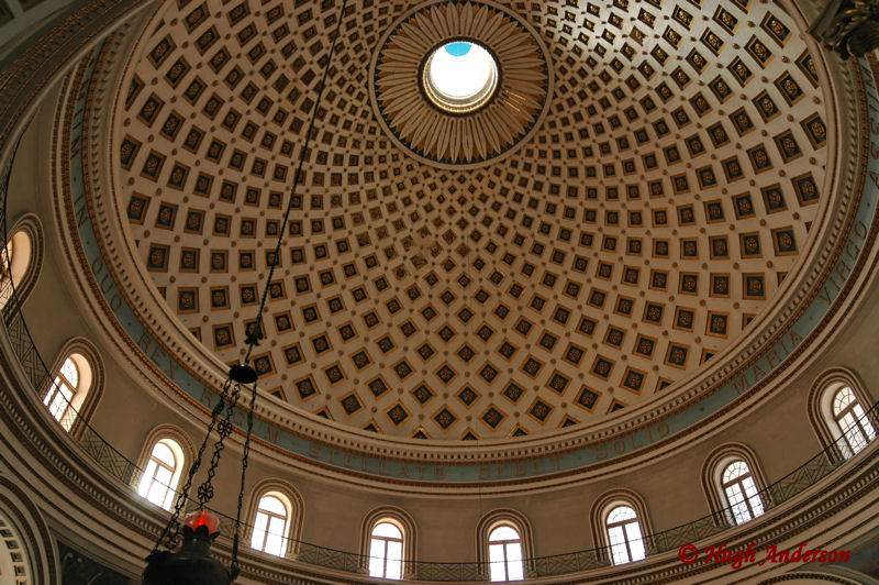 Mosta, The dome from inside