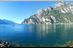 Lake Garda from Riva