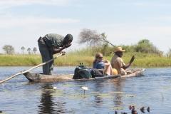 Okavango - Dugout Canoe