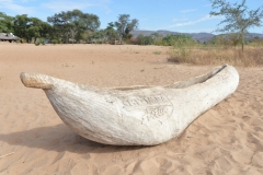 Chitimba - Dugout Canoe on the Beach