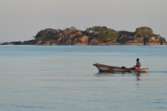 Fisherman on Lake Malawi