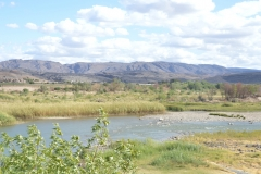 Orange River by the Noordoewer Camp Site