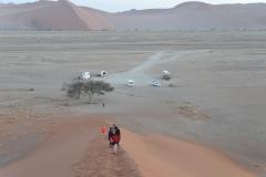 Sesriem - Climbing Dune 45