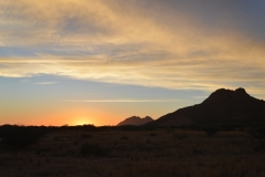 Spitzkoppe - Sunset