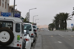 Swakopmund - Looking South to the Dunes