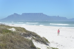 Blaubergstrand looking back at Table Mountain