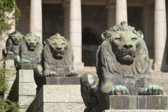 Rhodes Memorial Lions
