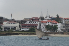 Zanzibar - from the Deoarting Ferry