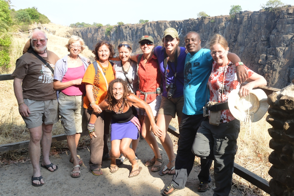 Victoria Falls - Some of our Fellow Overlanders