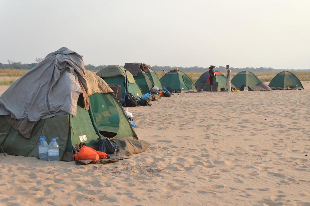 Zambezi - 2nd Camp Site