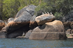 Matobo - Rocks at Maleme Dam