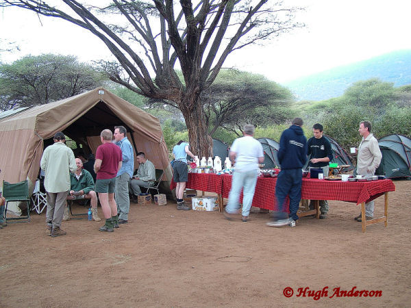 72004 Breakfast at Longido