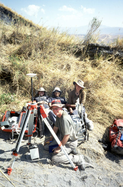GPS and Gravity Meter observations on Ol Doinyo Lengai - 2004