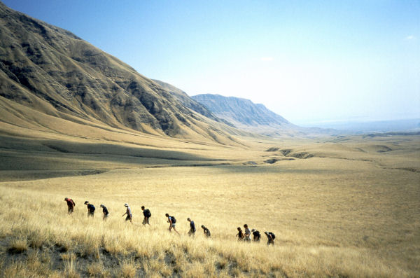 Trekking to the Western Wall of the Gregory Rift Valley