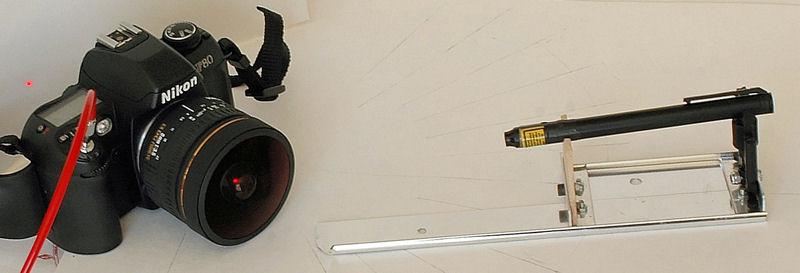 Laser Lens Calibration