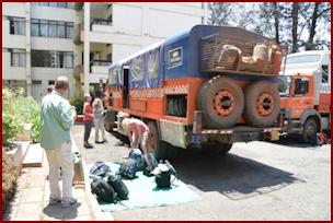 Dragoman Truck Lolly in Nairobi