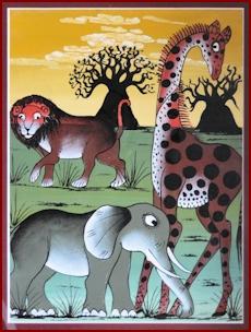 Mto Wa Mbu Painting