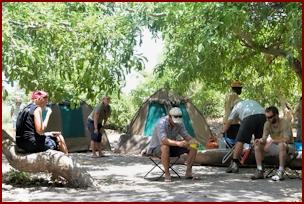 Okavango Camp Site