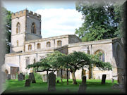 Church of St Mary, Easton Neston