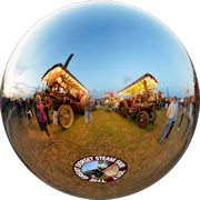 The Great Dorset Steam Fair – 2017 - Showman Engines - Evening Glow