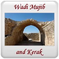 Wadi Mujib and Kerak