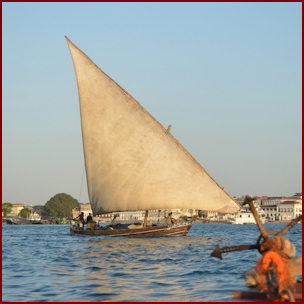 Dhow ,Zanzibar