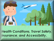 GUIDE TO TRAVELLING WITH HEALTH CONDITIONS