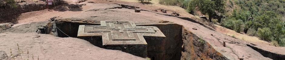 The Rock Hewn Churches of Lalibela in Ethiopia
