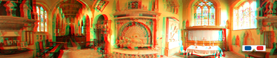 3D Stereo Anaglyphs