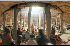 Inside the Earth House