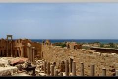Leptis Magna + Sea