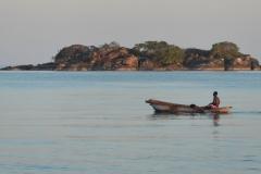 Fisherman on Lake Malawi