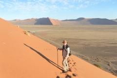 Sesriem - Going Down Dune 45