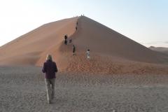 Sesriem - Setting off up Dune 45