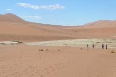 Sossusvlie - Pan Between the Dunes