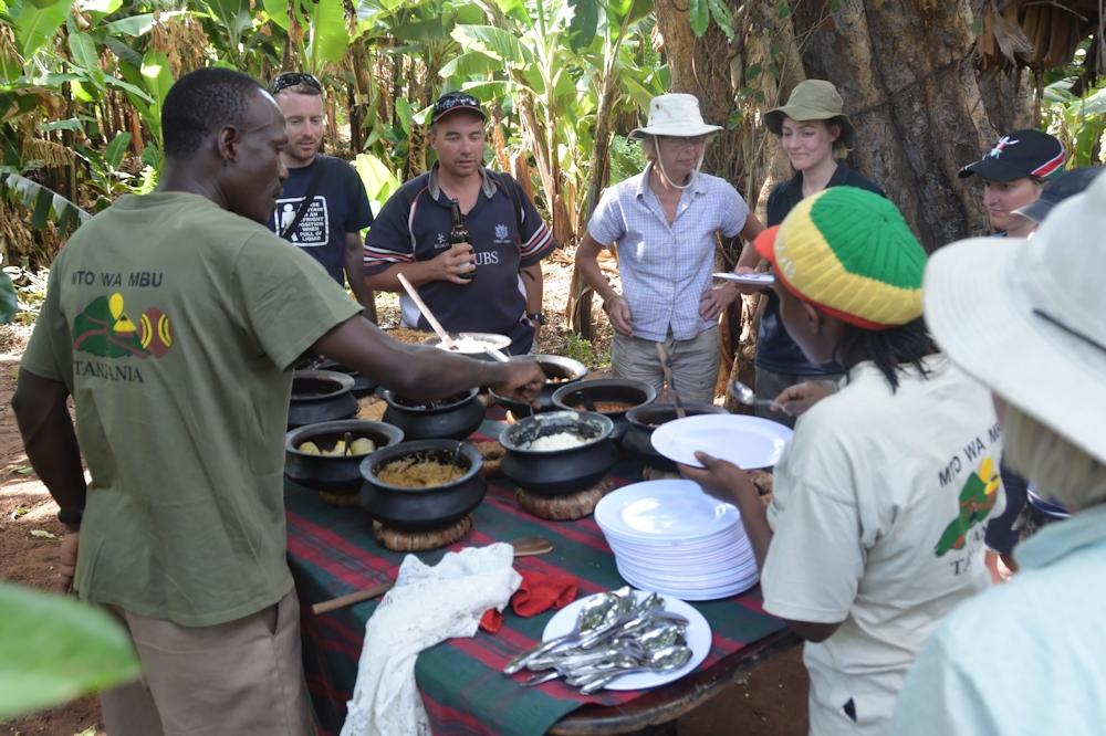 Mto Wa Mbu - Local Meal