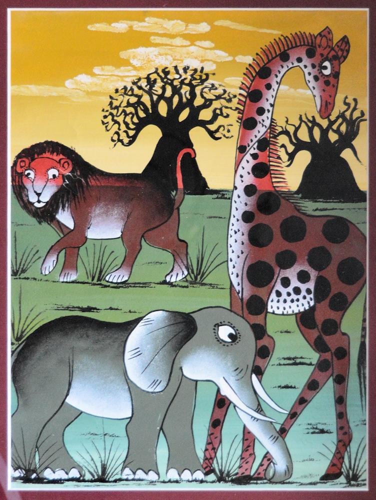 Mto Wa Mbu - Local Painting
