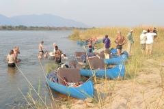 Zambezi - Paddling
