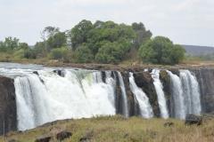 Victoria Falls + People
