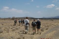 72306 Walking towards Ol Doinyo Lengai