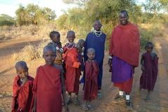 22 Maasai Family - Longido